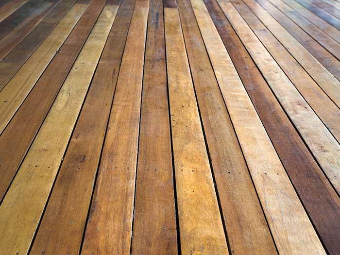 thin wooden floor panels